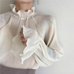 Hermosa Blusa Transparente...
