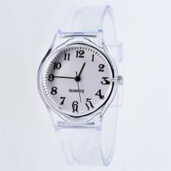 Moderno Reloj Transparente...