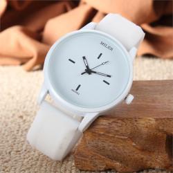 Relojes de silicona blanco...