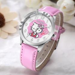 Reloj de cuero con diseño...