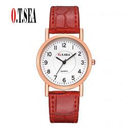 Relojes femeninos de cuero...