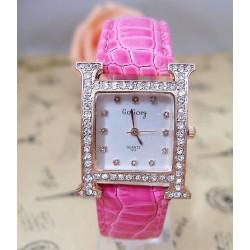 Reloj rectangular con...