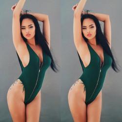 Sexy Bañador Femenino con...
